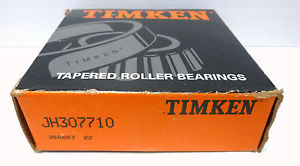 high temperature Timken JH307710 Tapered Roller Bearing Cup NIB