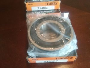 high temperature Timken 21-033 Ball Bearing  OD 3-7/8 in ID 1-5/8 in