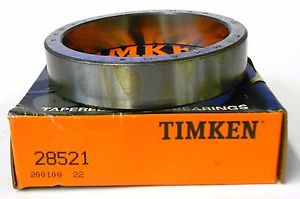 """high temperature TIMKEN TAPERED ROLLER BEARING OUTER RACE CUP, 28521, 3 5/8"""" OD"""