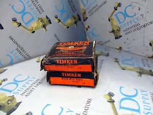 high temperature TIMKEN 529X-522-BRG TAPERED ROLLER BEARINGS LOT OF 2 NIB