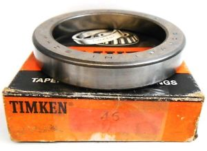 high temperature TIMKEN TAPERED ROLLER BEARING CUP 46, 80 MM OD, SINGLE CUP