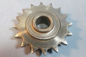 high temperature Idler Sprocket 16 Tooth for #35-40 Chain on RHP 1/1717 16 Bearing Used