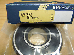 high temperature RHP MJ 2RS Rubber Sealed Imperial Radial Ball Bearing. 1inch x 2.1/2inch x 3/4in