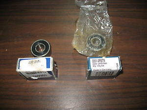 high temperature Lot of 2 2201-2RSTN Bearings RHP and NSK