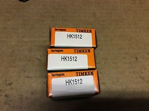 high temperature 3-Timken bearings#HK1512,day warranty, free shipping lower 48!
