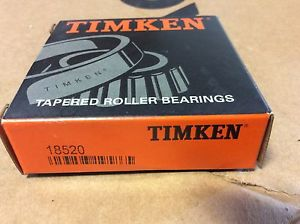 high temperature Timken bearings#18520 ,Free shipping lower 48, 30 day warranty!