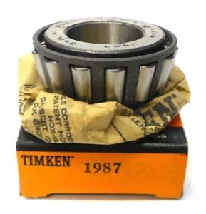 "high temperature TIMKEN TAPERED ROLLER BEARING 1987, USA, 1.0620"" BORE, 0.7620"" WIDTH"