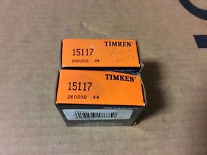 high temperature 2-Timken- bearings#15117 ,30 day warranty, free shipping lower 48!