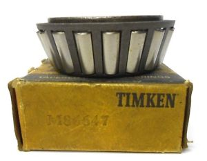 "high temperature TIMKEN TAPERED BEARING M86647, 1 1/8"" ID X 2 1/4"" OD X 7/8"" WIDE"