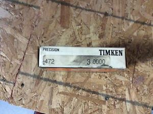 high temperature Timken tapered roller bearing,  NOS, #472 3000, free shipping, 30 day warranty