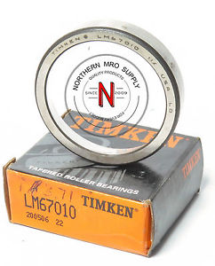 """high temperature TIMKEN LM67010 TAPERED ROLLER BEARING CUP, 2-11/32"""" OD, .465"""" WIDTH"""