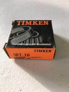 high temperature Timken Set 16 Bearing Cone/Cup, LM12749 – LM12711