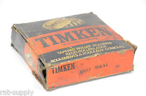 "high temperature TIMKEN 32212 92KA1 TAPERED ROLLER BEARING  Approx size 4.34""OD 2.343 ID"