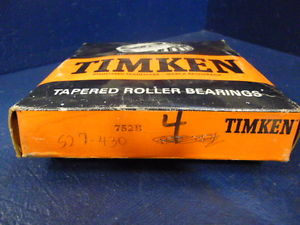 high temperature Timken 752B Tapered Rolling Bearing Flanged Cup