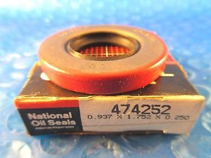 high temperature National Federal Mogul 474252 Oil Seal (= Timken)