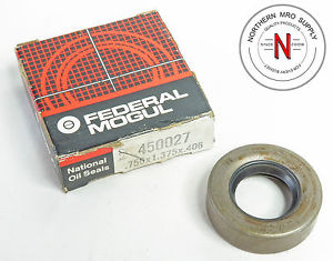"high temperature TIMKEN / NATIONAL 450027 OIL SEAL, .750"" x 1.375"" x .406"""