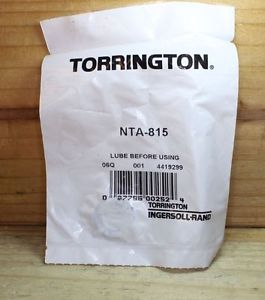high temperature TORRINGTON BEARING NTA 815