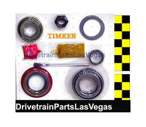 high temperature Timken Inner  Outer  Pinion  Bearing / Race  Nut – Seal  Crush Sleeve  Shims +