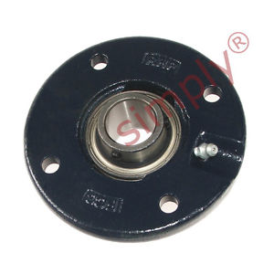 high temperature RHP FC20A-RHP 4 Bolt Round Cast Iron Flanged Bearing Unit & 20mm Insert
