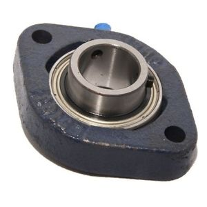 high temperature LFTC17 17mm Bore NSK RHP Cast Iron Flange Bearing