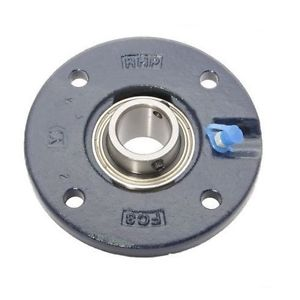 """high temperature MFC4 4"""" Bore NSK RHP Cast Iron Flange Cartridge Bearing"""