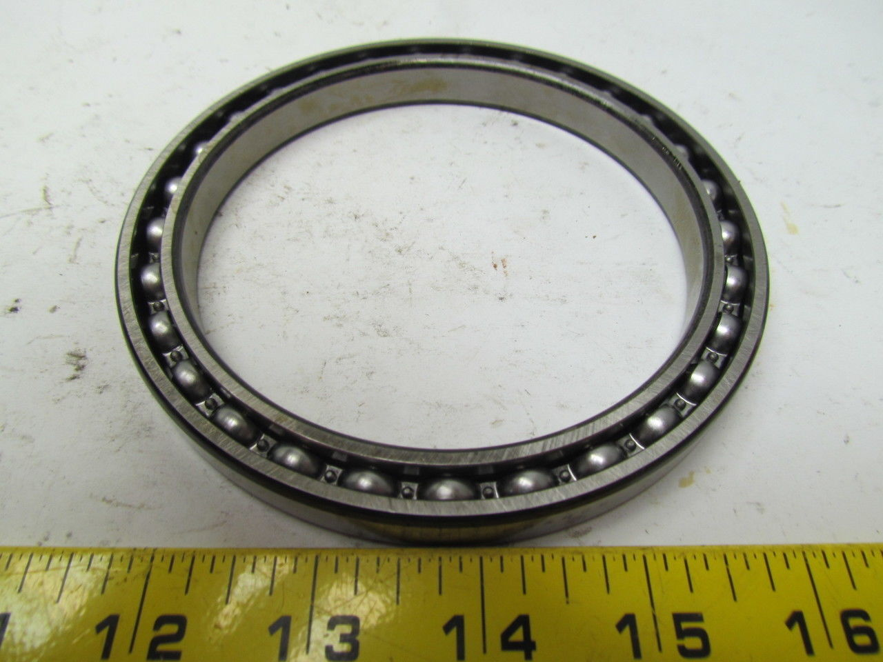 high temperature SKF 61821 Open Type thin section deep groove ball bearing