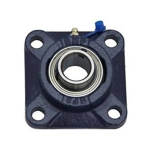 high temperature SF17EC 17mm Bore NSK RHP 4 Bolt Square Flange Cast Iron Bearing