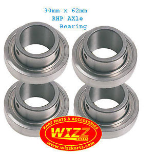 high temperature RHP Set of 4  30mm x 62mm Axle Bearing FREE POSTAGE WIZZ KARTS