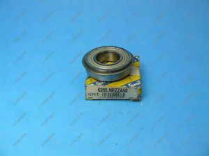 high temperature SNR 6205.NRZZA50 Single Row Ball Bearing 52 X 25 X 15 mm Double Shielded NOS