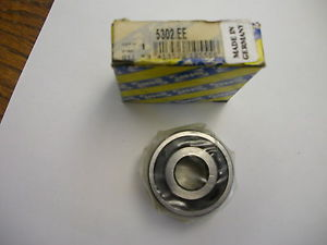 high temperature SNR 5302EE DOUBLE ROW BALL BEARING 15 MM X 42 MM X 19 MM  NIB