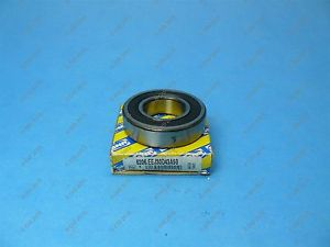 high temperature SNR 6206.EEJ30D43A50 Single Row Ball Bearing 62 X 30 X 16 mm 2 Seals NOS