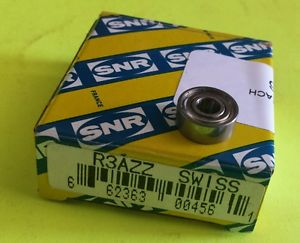 high temperature SNR  R3AZZ  Ball and Roller Bearing   * NOS