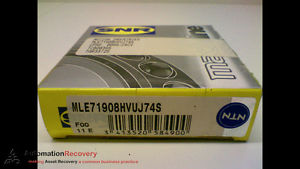 high temperature SNR MACHLINE MLE71908HVUJ74S PRECISION BEARING,  #173171