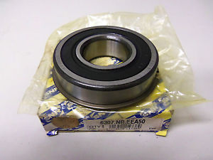 high temperature  SNR 6307.NR.EEA50 BEARING WITH SNAP RING 6307