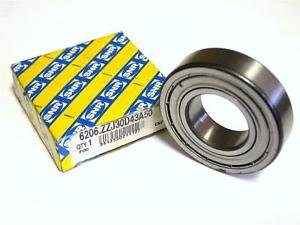 high temperature BRAND  IN BOX SNR BALL BEARING 30MM X 62MM X 16MM 6206.ZZJ30D43A50 (2 AVAIL.)
