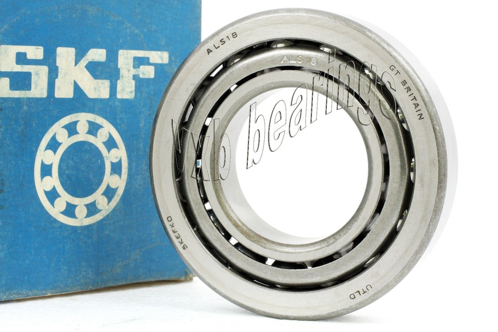 "high temperature ALS18 SKF  Angular Contact  2 1/4"" X 4 1/"" X 7/8"" Inch Steel Ball – Steel Cage"