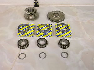 high temperature Opel M32 Gearbox genuine 6th gears & uprated SNR top casing bearings
