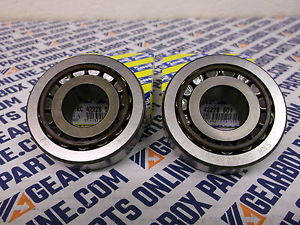 high temperature 2 x SNR O.E. gearbox bearing, EC.42228.S01.H206, Replaces NP868033/NP666556