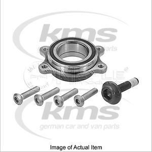 high temperature WHEEL BEARING KIT AUDI A4 Convertible (8H7, B6, 8HE, B7) 2.0 TDI 136BHP Top Germ