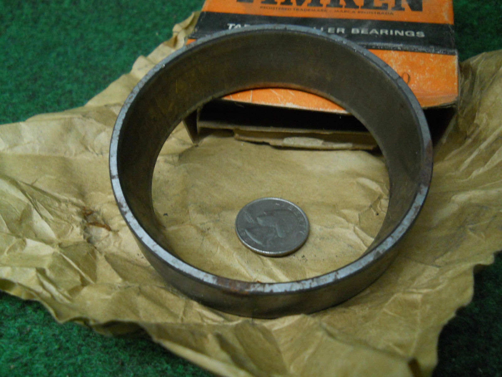 high temperature Timken 3720 Cup #1 Bearing Old Stock Ball Bearings USED
