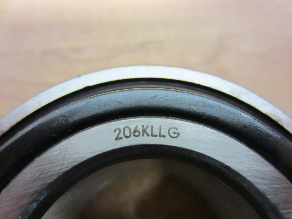 high temperature Fafnir 206KLLG Timken Radial Ball Bearing