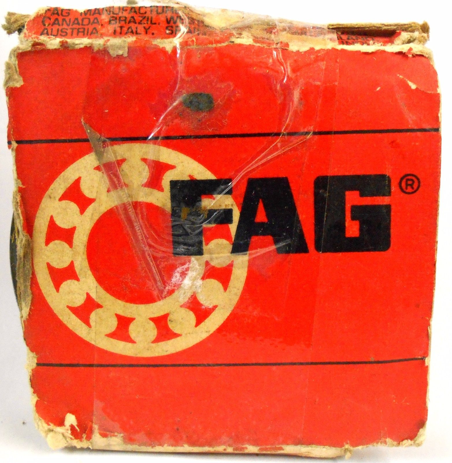 high temperature FAG SHIELED BALL BEARING **6210 ZR**