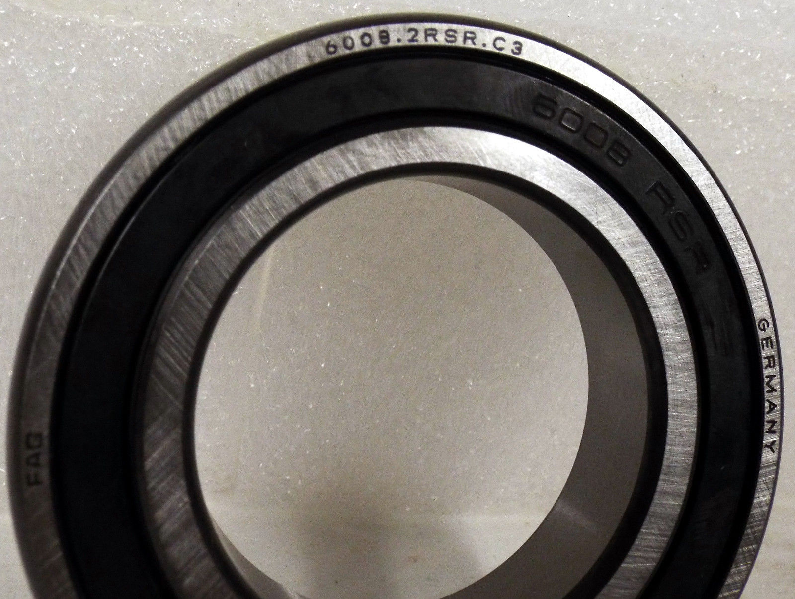 high temperature 1  FAG 6008.2RSR.C3 RADIAL BALL BEARING DOUBLE SEALED