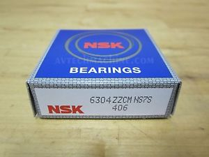 high temperature NSK BEARING DEEP GROOVE PRECISION BALL BEARING  6304ZZ