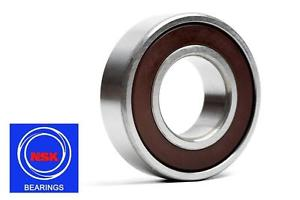 high temperature 6301 12x37x12mm DDU Rubber Sealed 2RS NSK Radial Deep Groove Ball Bearing