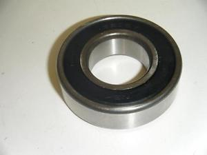 high temperature NSK 6205V 25 mm BORE 52 mm O.D. 15 mm WIDE FULL SEALED RADIAL BALL BEARING NOS