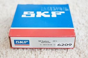 high temperature  IN BOX SKF 6209-2RSJEM SHIELDED BALL BEARING