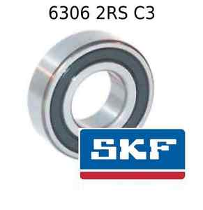 high temperature 6306 2RS C3 Genuine SKF Bearings 30x72x19 (mm) Sealed Metric Ball Bearing 2RSH