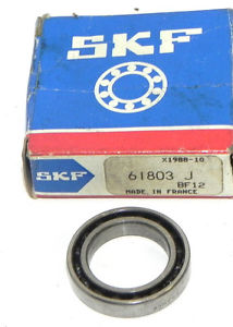 high temperature NIB SKF 61803 BALL BEARING THIN SECTION 61803 J
