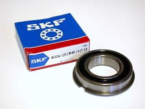 high temperature BRAND  IN BOX SKF SINGLE ROW BALL BEARING 30MM X 55MM X 13MM 6006-2RS1NR/HT51
